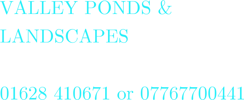 www.valleyponds.co.uk Logo